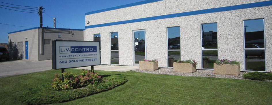 L.V. Control Building